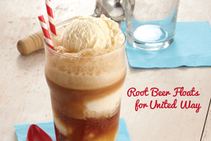 Root Beer Floats for United Way
