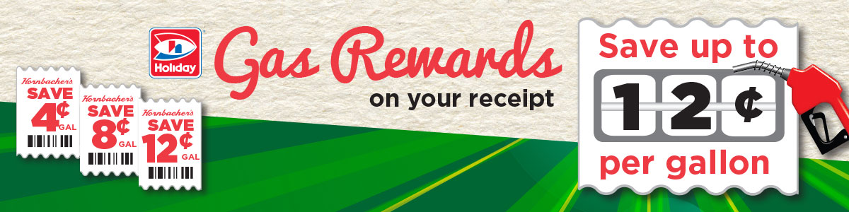 Gas Rewards on your Receipt